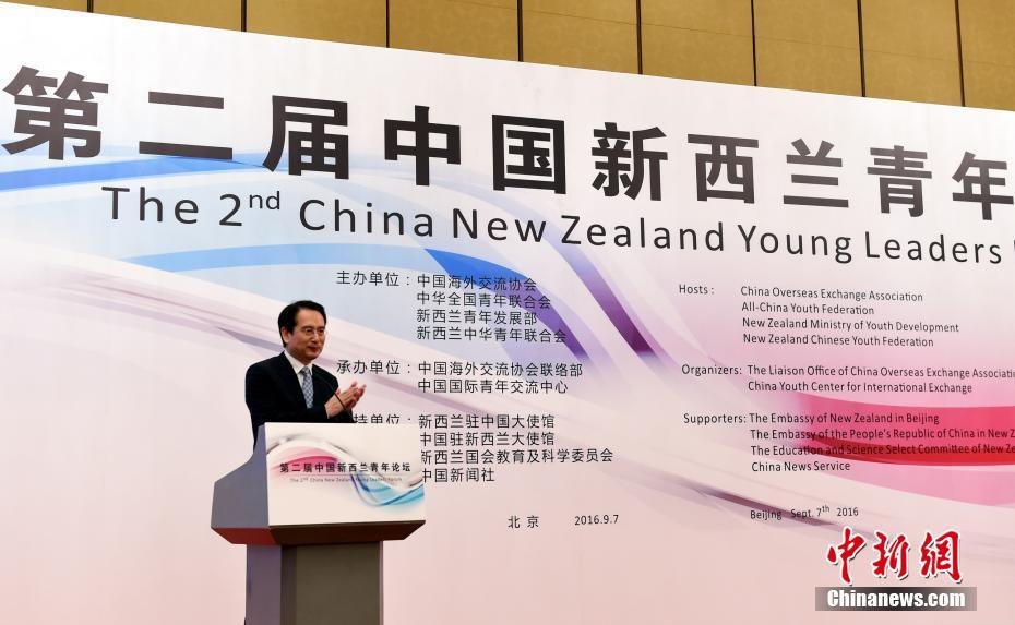 """""""第二届中新青年论坛""""在北京举行"""