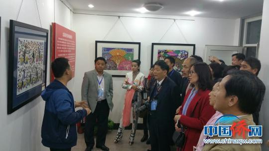 第二届全球华人书画展落幕