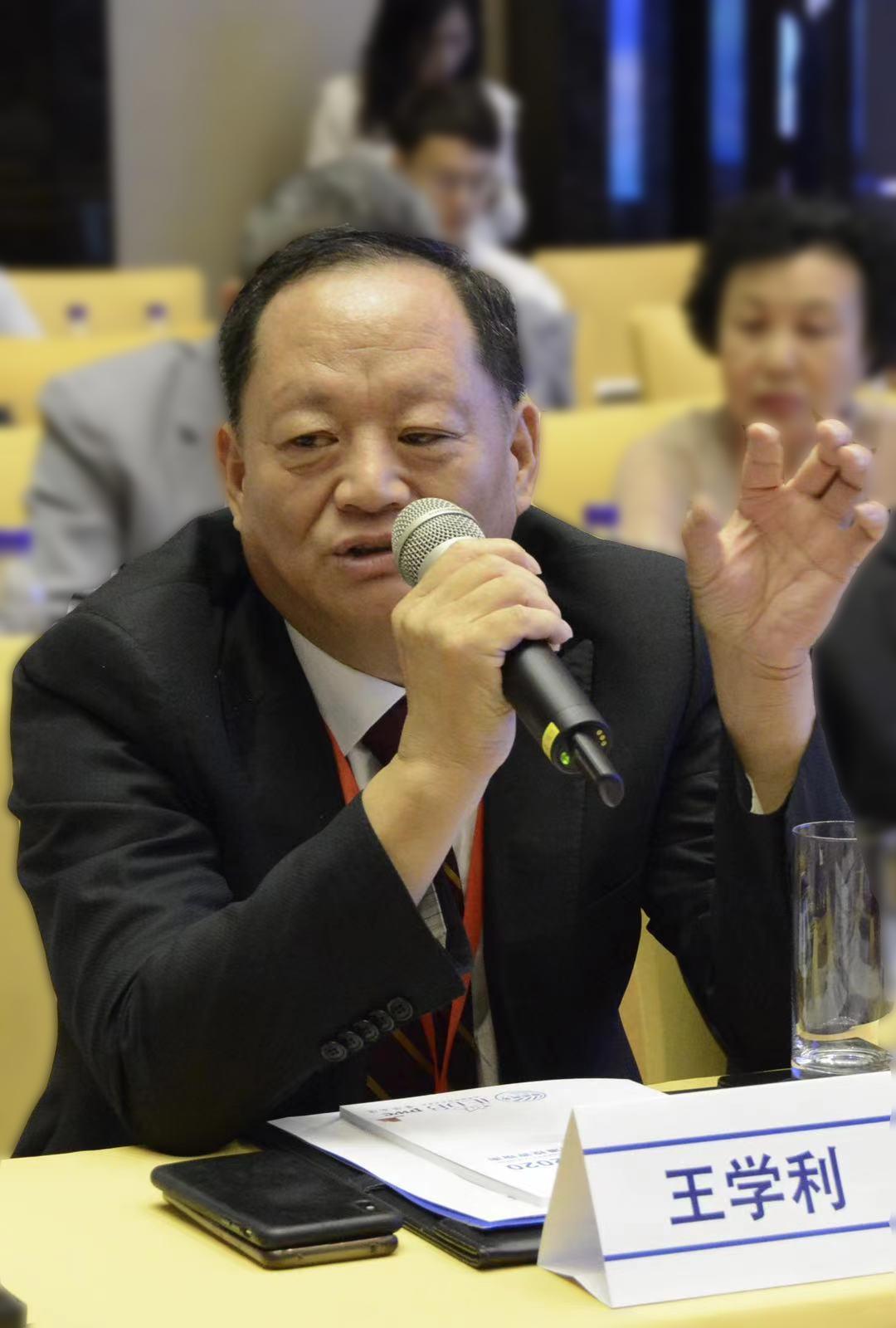 王学利:德利得集团董事长