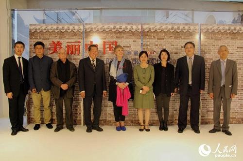 """""""美丽中国""""摄影展将持续到14日。人民网记者邢雪摄"""