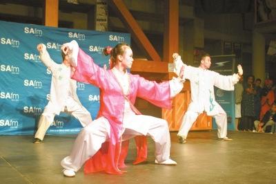 美丽天津艺术团太极拳表演《行云流水》