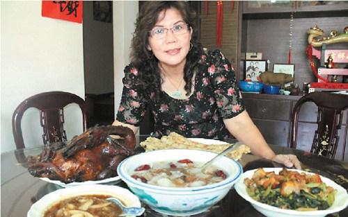 大马华人谈潮州年菜:卤鸭是必备 初七吃春菜