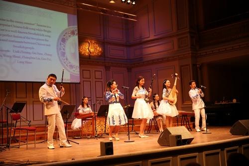 """中国侨网-""""欢乐春节""""中国民族音乐会在瑞典举行(图)"""