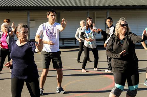 太极拳走进新西兰主流视野 中式养生受欢迎(图)