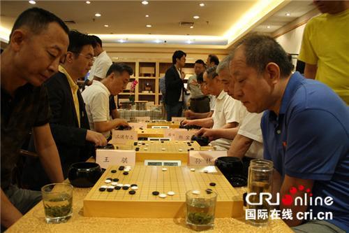 中国侨网中日友好围棋交流活动。