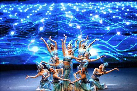 中国侨网演出现场。