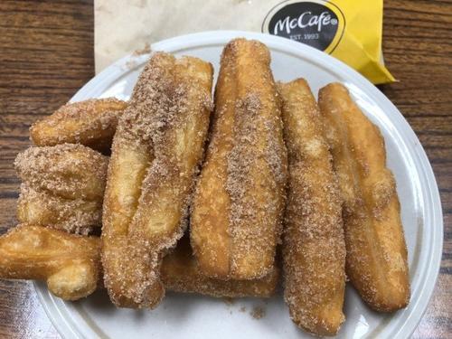 麦当劳迷你甜油条成美国网红产品华人留学生称赞