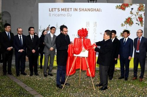 上海顧繡主題展在米蘭開展中華刺繡盡顯時尚