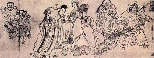唐及五代的人物画