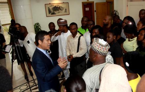 图片来源:中国驻尼日利亚大使馆网站
