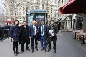 法国华裔律师彭昌华率队参选巴黎13区区长