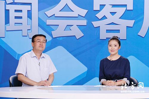 天津市侨办副主任房靖彪做客《新闻会客厅》
