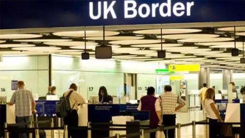英国边检(欧洲时报英国版微信公众号援引英国BBC)