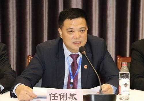 法国华侨华人会主席任俐敏 钱海芬 摄