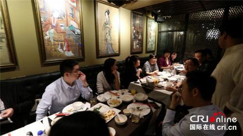 餐馆中国风的装饰风格。