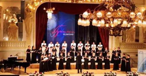 合唱比赛现场。(匈牙利欧洲华通社)